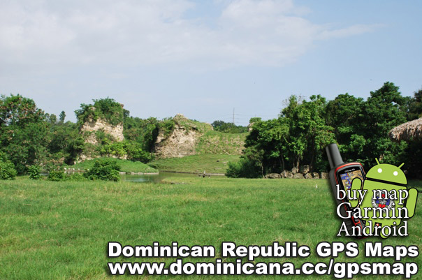 Dominican GPS maps include all the cities