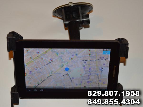 Navegador GPS completo con mapas Dominicana actualizados