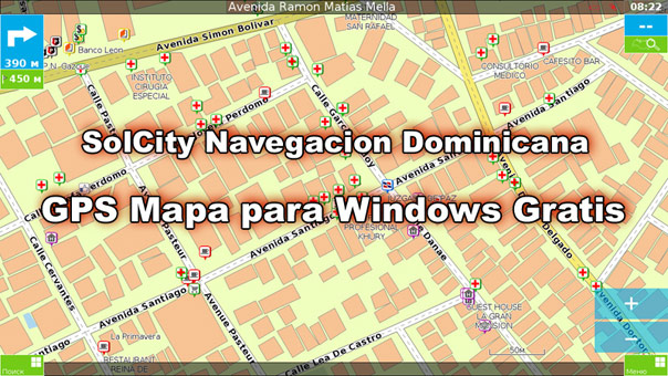 Download app of Dominican Republic GPS map