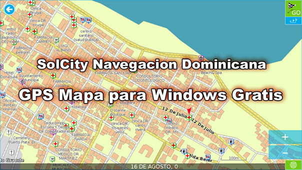 Full GPS Map of Dominican Republic