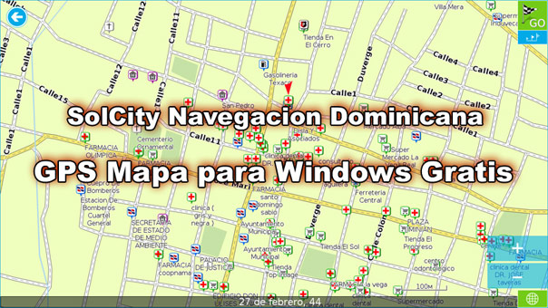Free Dominican Republic GPS Maps