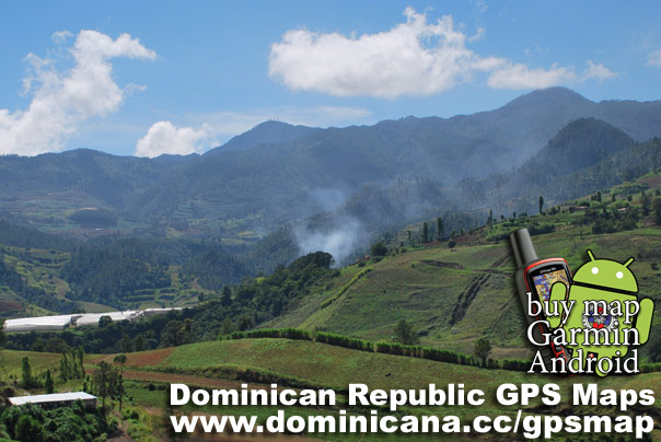 Complete Dominican Maps for GPS