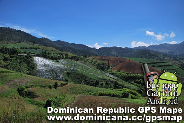Dominican Republic GPS Map