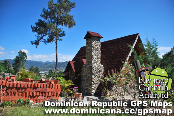 Different GPS Maps companies are represented in Dominican Republic