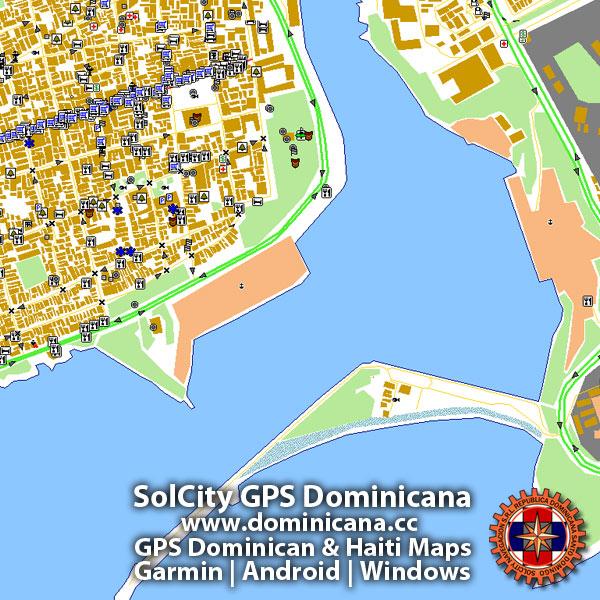 Free Dominican Republic GPS maps